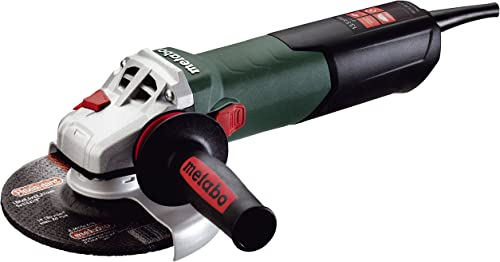 """new arrival Metabo- 6"""" popular Angle Grinder - 9, 600 Rpm - 13.5 lowest Amp W/Electronics, Lock-On (600464420 15-150 Quick), Professional Angle Grinders outlet sale"""