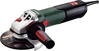 Metabo WE15-150 Quick 13.5 Amp 9, 600 Rpm Angle Grinder with Electronics & Lock-On Sliding Switch, 6