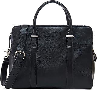 Ancicraft Leather Messenger Bag for Men 14 Inch Laptop Briefcase Crossbody Shoulder Bags