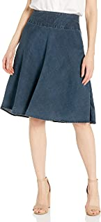 Women's Denim Summer Fling Flirt Skirt