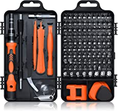 Screwdriver Set 115 in 1, ROADTEC Mini Precision Screwdriver Set with Case, Multi-function Magnetic Screwdriver Kit with Replaceable Bits for iPhone, Mac, Computer, Laptop, Watch, Glasses, Electronics