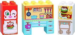 アンパンマン ブロックラボ はじめてブロックセット わくわくキッチンとドキンちゃん (はじめてのブロック遊びに!ファーストブロックシリーズ)