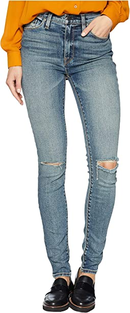 Barbara High-Waist Skinny Jeans in Colima Road