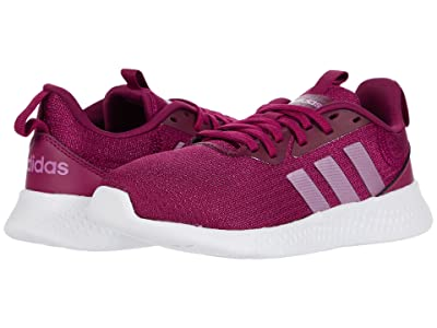 adidas Kids PUREMOTION (Little Kid/Big Kid) (Power Berry/Cherry Metallic/Power Berry) Girls Shoes