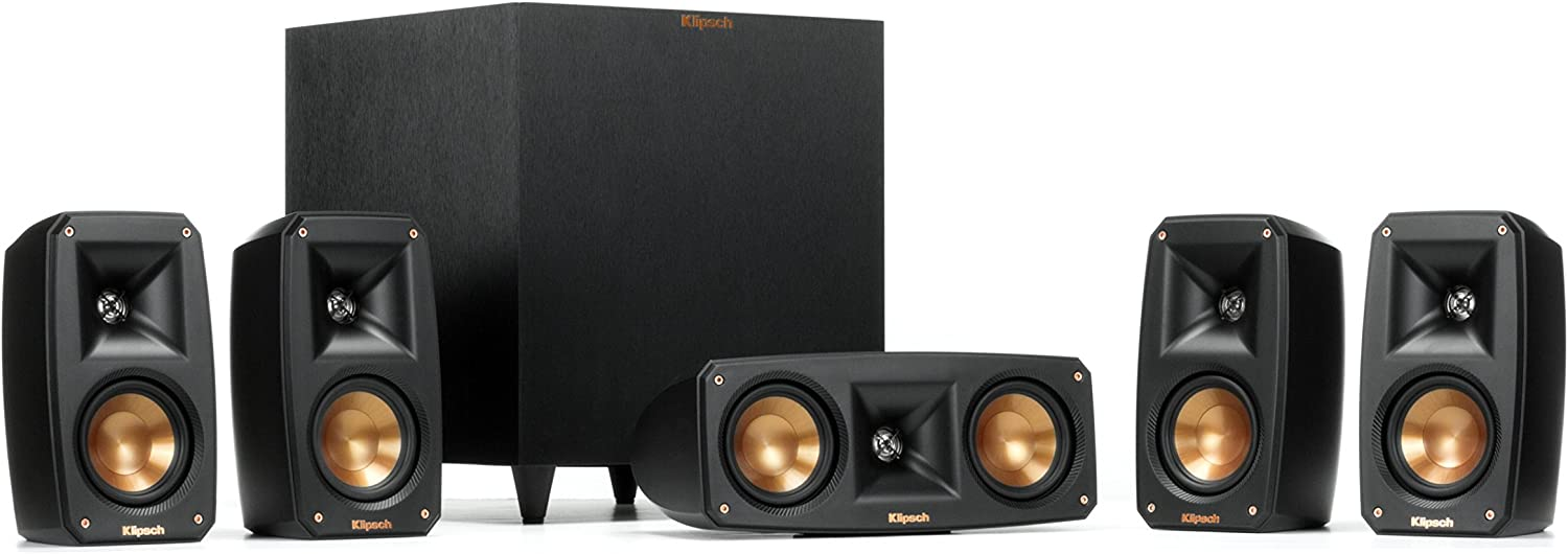 Klipsch Black Reference Theater Pack 5.1