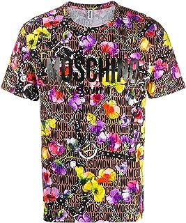 6ad15ee0c6 Moschino T-Shirt Uomo Printed Logo Floreale ss19