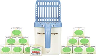 Neater Pet Brands Neater Scooper and 195 Count Refill Bag Bulk Pack Value Bundle - Cat Litter Sifter Scoop System with Extra Waste Bags by