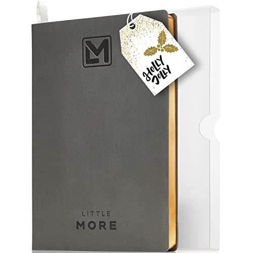 """Undated Organizer Planner for Minimalists  Daily Agenda to Achieve Goals and Management of Your Schedule  Productivity Goal Planner for Work & Life Balance  A5 (5.5""""x8.5"""") Diary Notebook 2019/2020"""
