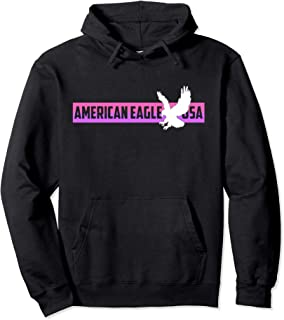 American Eagle USA Great Gift #7 Pullover Hoodie