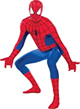 Costumes USA Spider-Man Partysuit for Adults, Size Extra-Large, Includes a Spandex Partysuit with Double Zippers