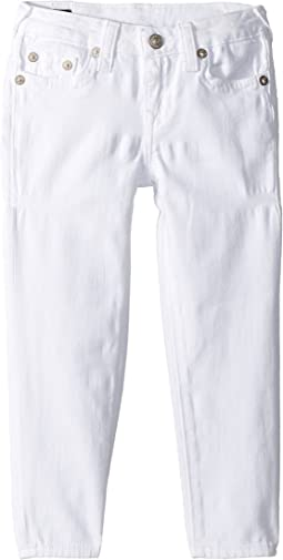 Casey Ankle Skinny in Bleached White (Toddler/Little Kids)