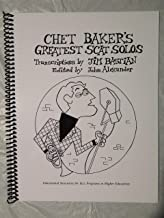 Chet Baker's Greatest Scat Solos, transcribed for jazz trumpet, voice, piano, guitar flute