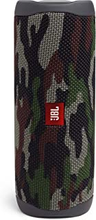 JBL Flip 5 Portable Bluetooth Speaker with Rechargeable Battery, Waterproof, PartyBoost Compatible, Squad (Camouflage)