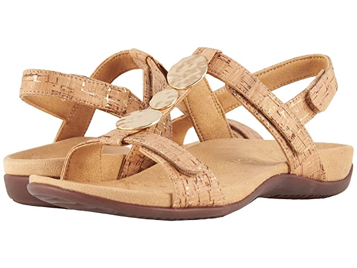 VIONIC  Farra (Gold Cork) Womens Sandals