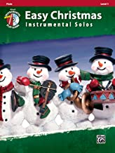 Easy Christmas Instrumental Solos, Level 1: Flute, Book & CD (Easy Instrumental Solos Series)