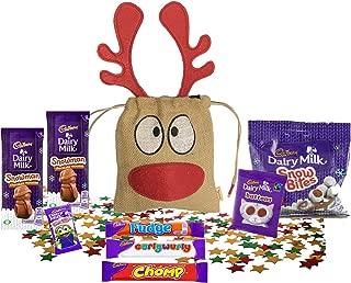 British Christmas Candy Chocolate UK | Basically British Reindeer Bag | British Christmas Shop | Imported from UK (Cadbury Chocolates)