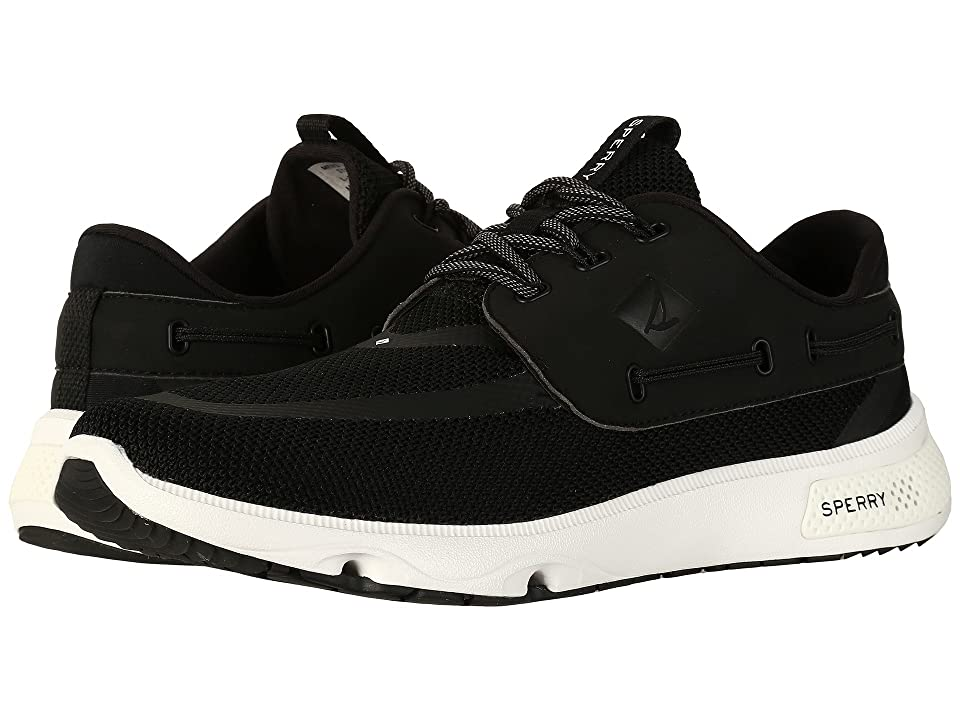 Sperry 7 Seas 3-Eye (Black) Men