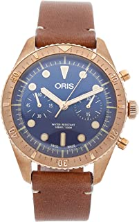Divers Mechanical (Automatic) Blue Dial Mens Watch 01 771 7744 3185-SET LS (Certified Pre-Owned)