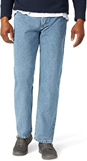 Wrangler Men's Regular Fit Jeans Five Star (31X32, Light Denim)