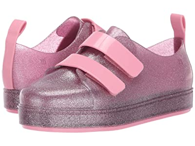 Mini Melissa Mel Go Sneaker Inf (Little Kid/Big Kid) (Pink Glitter) Girl