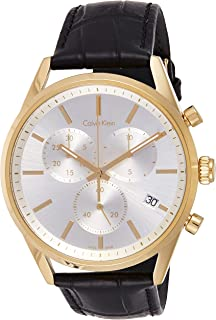 Calvin Klein Formality Watch for Men - Analog Leather Band - K4M275C6