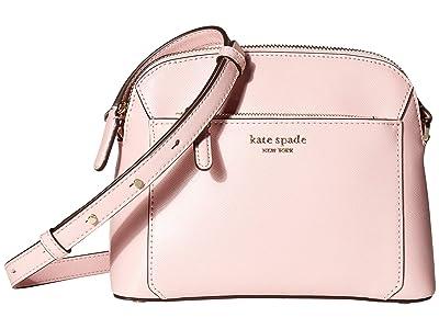 Kate Spade New York Louise Medium Dome Crossbody (Tutu Pink) Handbags