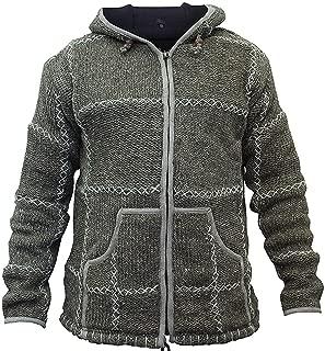 Shopoholic Fashion Mens Wool Knitted Jacket