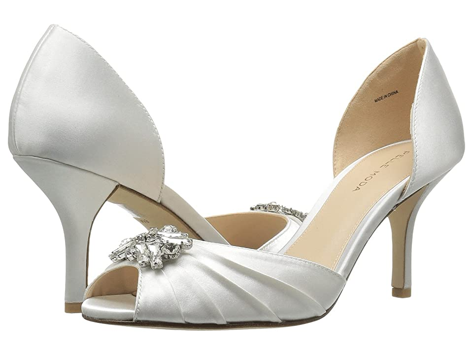 Pelle Moda Ilan 2 (White Classified Bridal Satin) High Heels