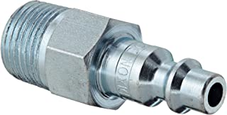 Dixon Valve & Coupling DCP2103 Steel Air Chief Industrial Interchange Air Fitting, Quick-Connect Plug, 1/4