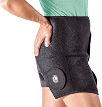 ActiveWrap Hip Ice Pack Wrap With Reuasable Hot & Cold Packs - Hip Replacement Pelvic Pain Relief - One Size