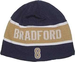 Reebok Sam Bradford #8 St. Louis Rams NFL Team Apparel Stripe Knit Beanie Hat