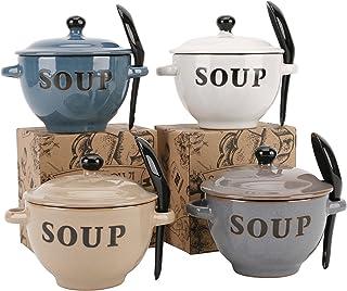 Varios País cocina cerámica sopa cuencos