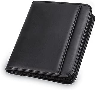 Samsill 70821 Professional Padfolio - Resume Portfolio/Business Portfolio with Secure Zippered Closure, Junior Size, 10.1-inch Tablet Pocket, Expandable Document Organizer & 7