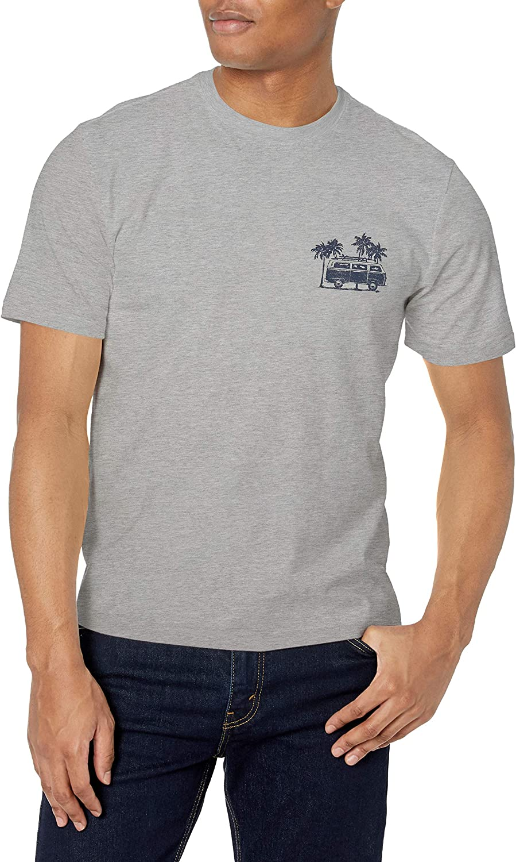 Izod Mens Saltwater Short Sleeve Graphic T-Shirt