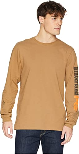 Base Plate Blended Long Sleeve T-Shirt w/ Logo