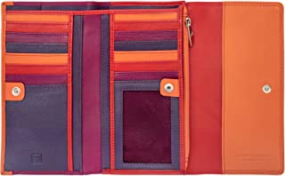 DuDu - Women's Leather Wallets - Stylish Purse - Colorful Colection - Elba - Color Fuxia