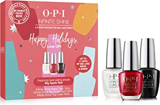 OPI Infinite Shine Big Apple Red Trio, Red