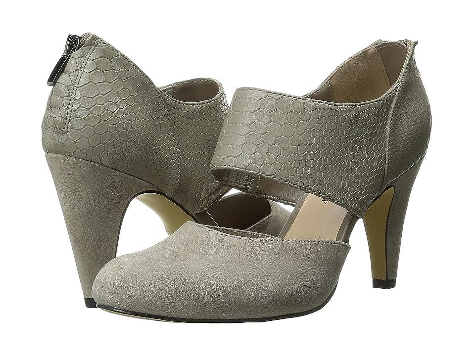 Bella-Vita Neola (Stone Suede/Croco) High Heels