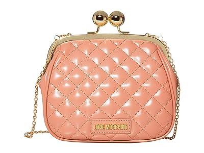 LOVE Moschino Evening Shoulder Bag (Cipria/Poudre) Handbags