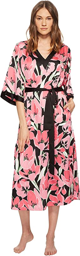 Kate Spade New York Tropical Floral Caftan