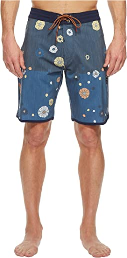 Creators Heathered Four-Way Stretch Boardshorts 20""