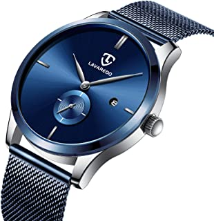 Watch, Men's Watches Blue Simple Ultra-Thin Casual...