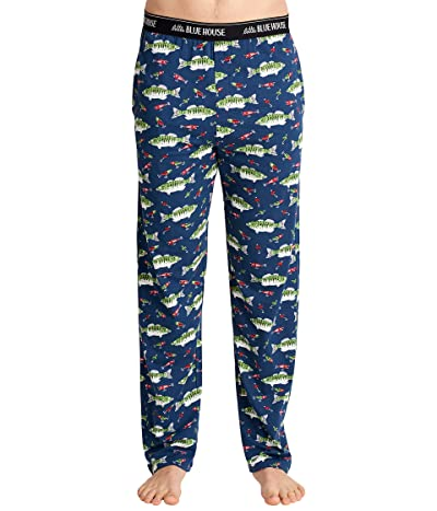 Little Blue House by Hatley Gone Fishing Jersey Pajama Pants