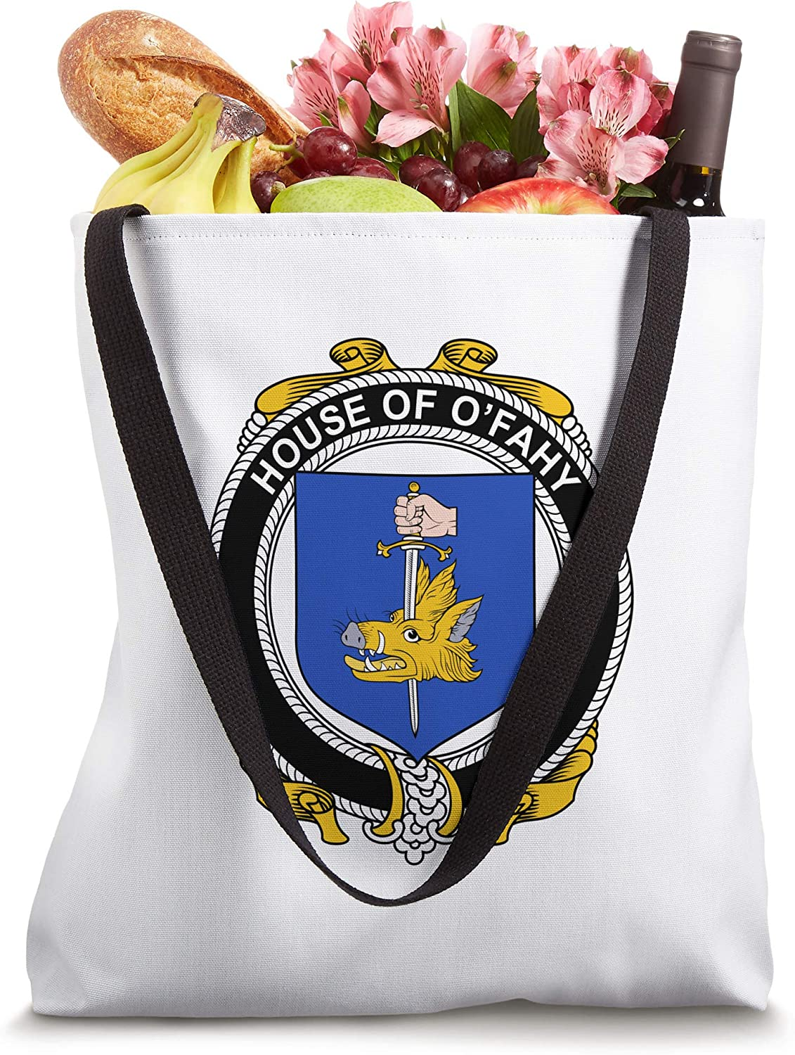 O'Fahy Coat of Arms - Family Crest Tote Bag