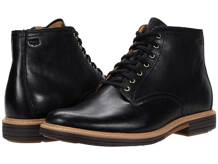 1950s Men's Clothing UGG Chandon Black Mens Shoes $199.95 AT vintagedancer.com