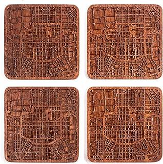 city map coasters