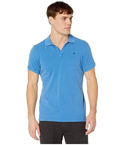 Scotch & Soda Classic Garment-Dyed Pique Polo (Bright Blue) Men