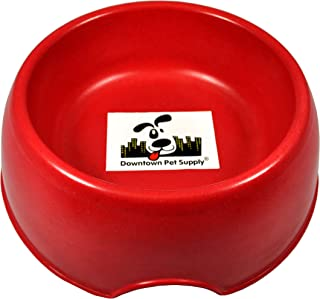 Downtown Pet Supply Go Green with our Eco-Friendly Bamboo Pet Feeding Bowls suitable for dogs and cats, water or food