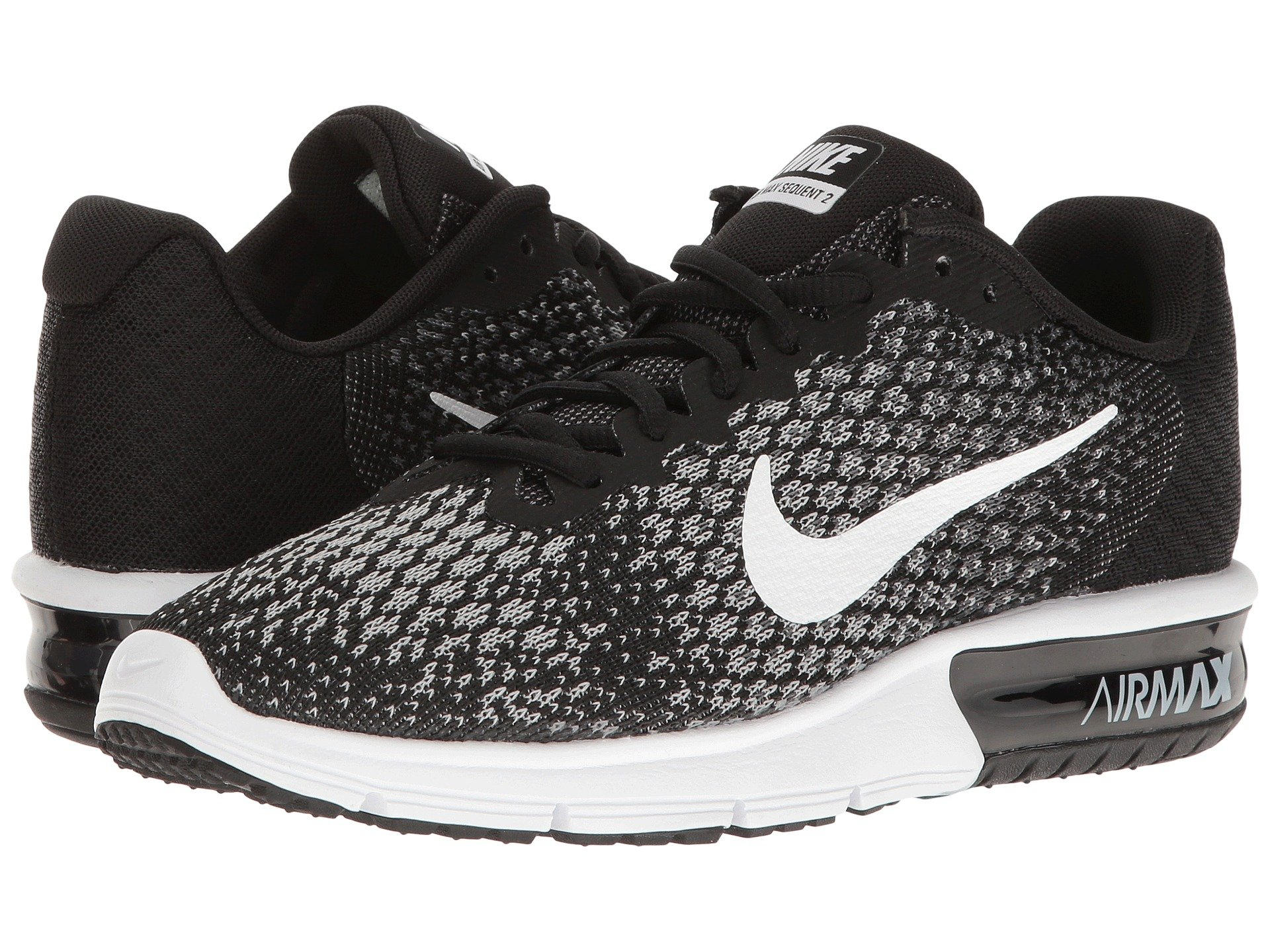 615d8ab694 ... spain nike air max sequent 2 black white dark grey wolf grey 4c84e ffd9a
