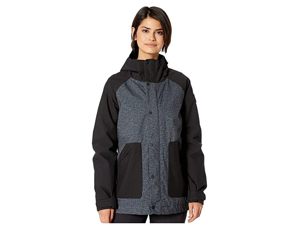 Burton Eastfall Jacket (True Black Twill/True Black) Women